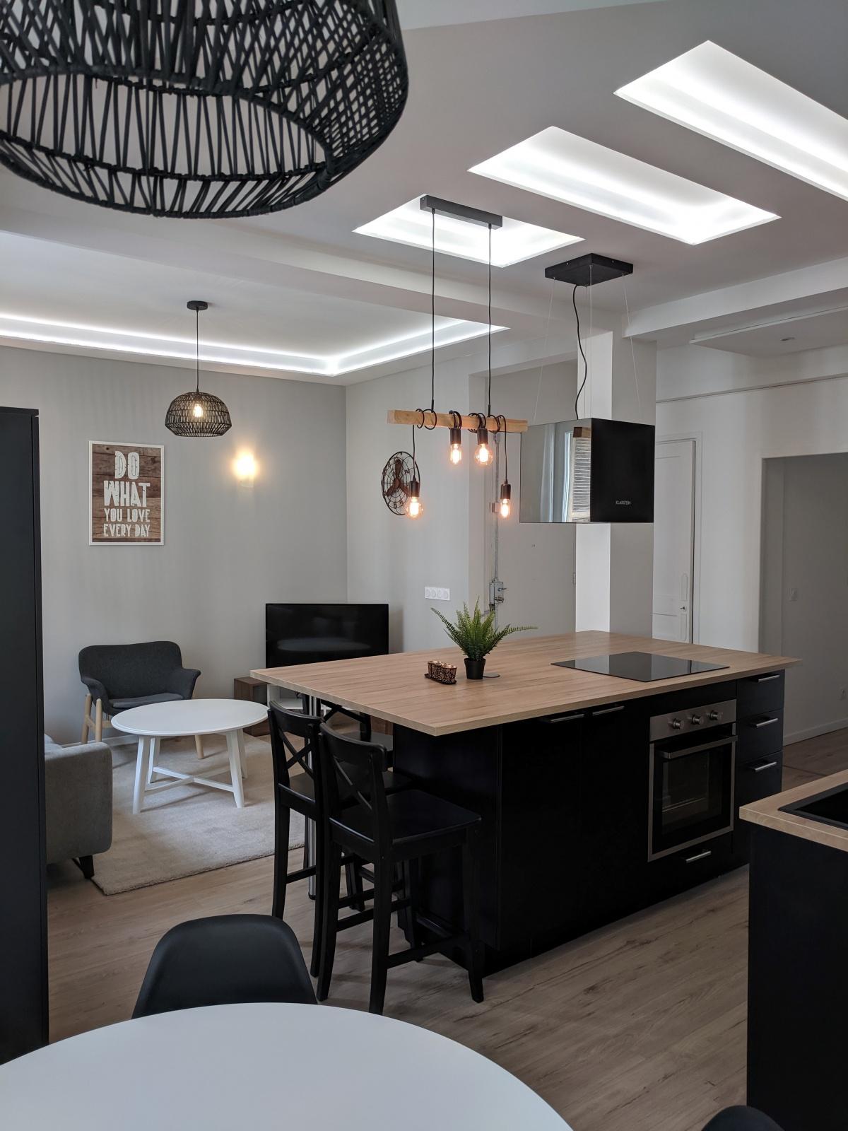 Appartement de 90m² : 5