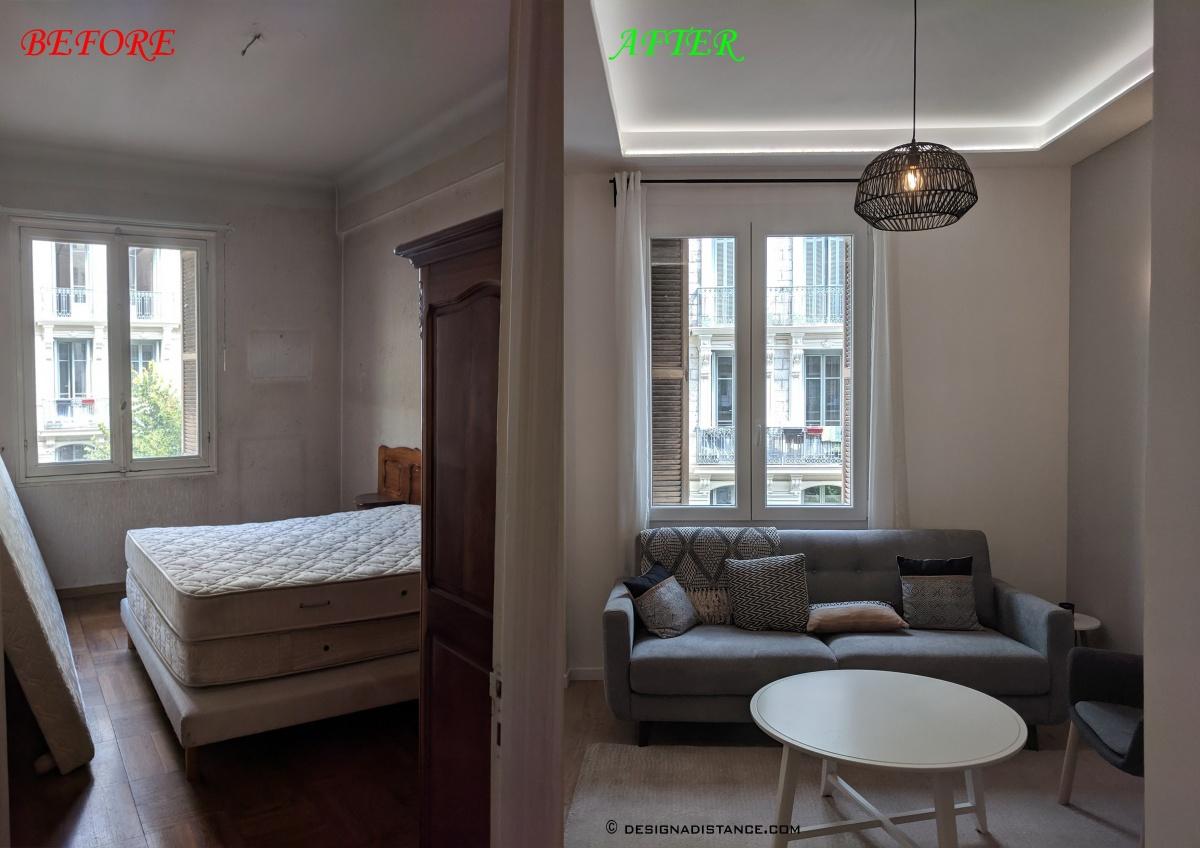 Appartement de 90m² : B
