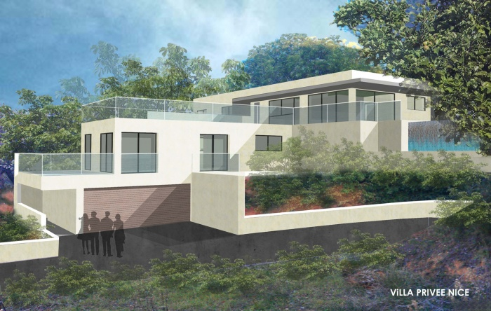 Conception d'une maison individuelle Contemporaine