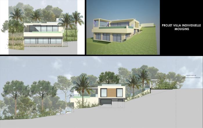 Conception d'une maison individuelle Mougins