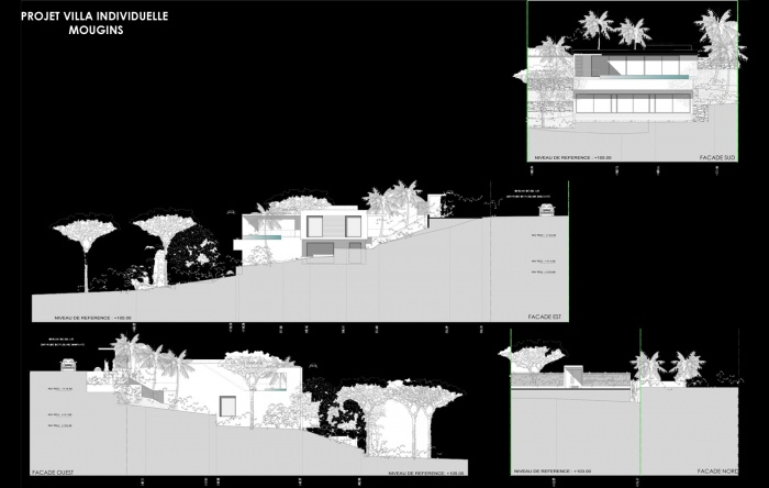 conception d 39 une maison individuelle mougins mougins une r alisation de hierro project. Black Bedroom Furniture Sets. Home Design Ideas
