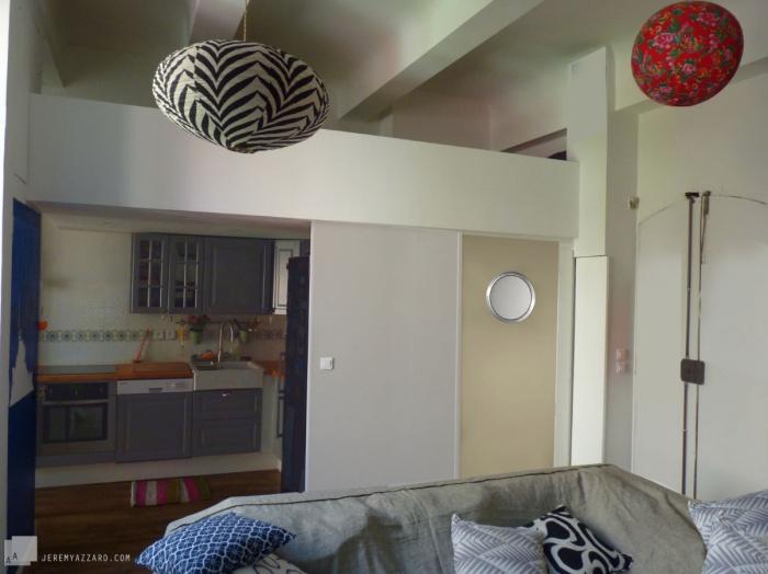 Réaménagement Intérieur dans un Immeuble ancien : amenagement-interieur-architecture-vuecuisine-azzaro-archjitecte