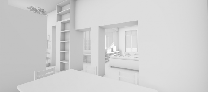 r novation d 39 un appartement nice nice une r alisation de pierre alain mayoly. Black Bedroom Furniture Sets. Home Design Ideas